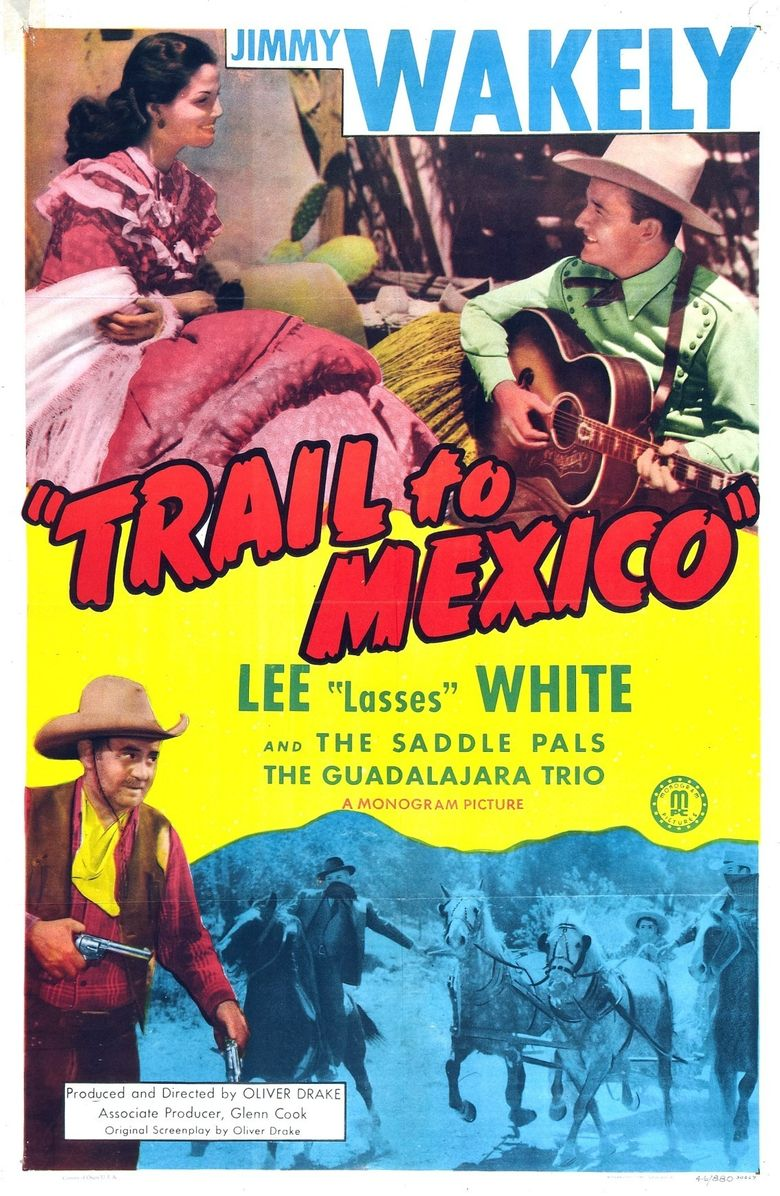Trail to Mexico Poster
