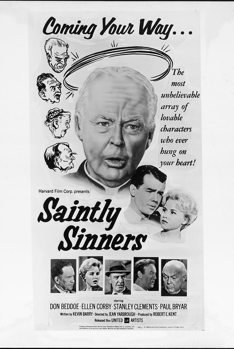 Saintly Sinners Poster