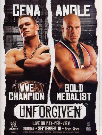 WWE Unforgiven 2005 Poster