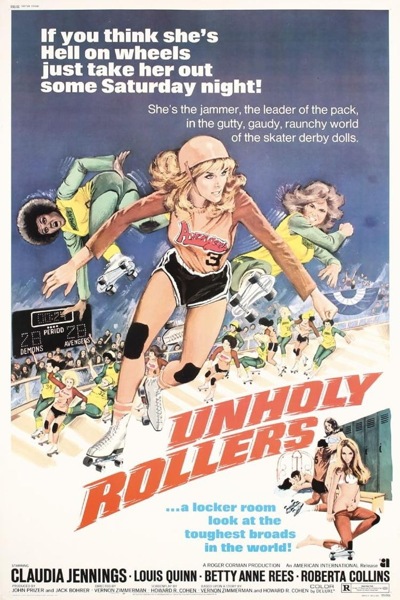 The Unholy Rollers Poster