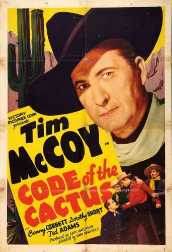 Code of the Cactus Poster