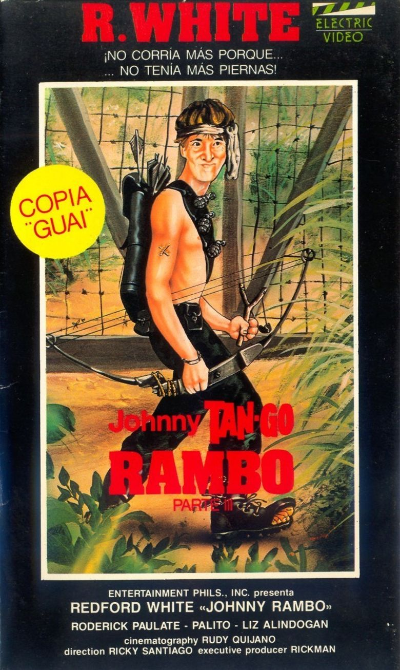Rambo Tanggo Part III Poster