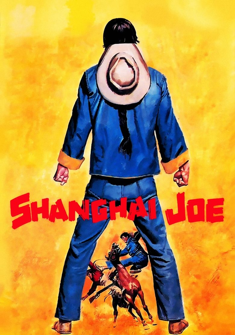 The Fighting Fists Of Shanghai Joe Poster