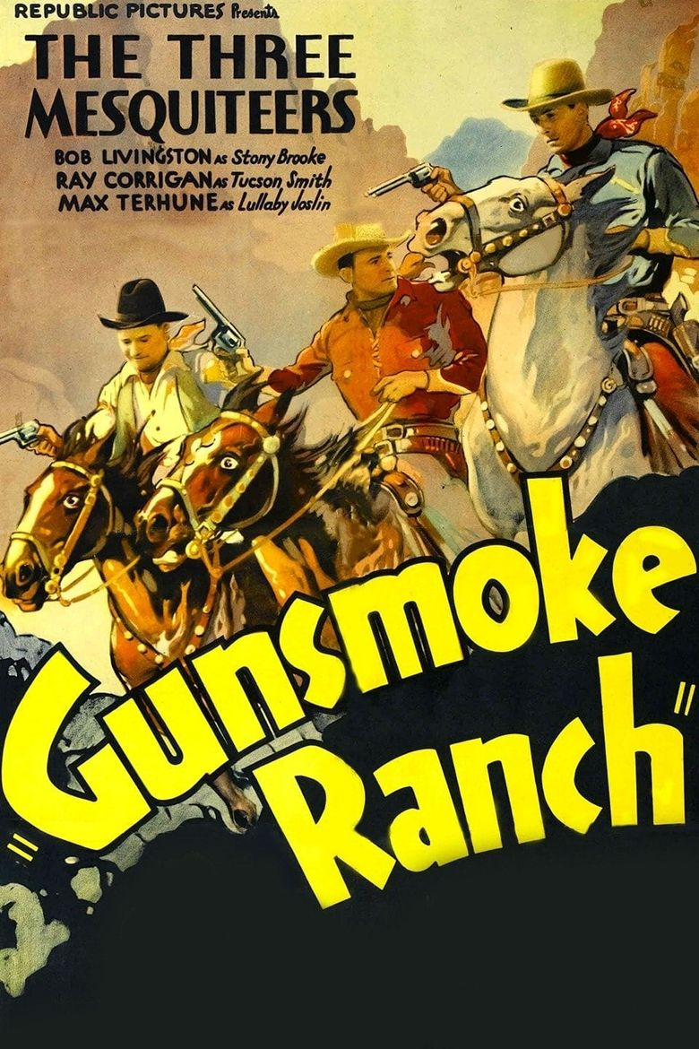Gunsmoke Ranch Poster