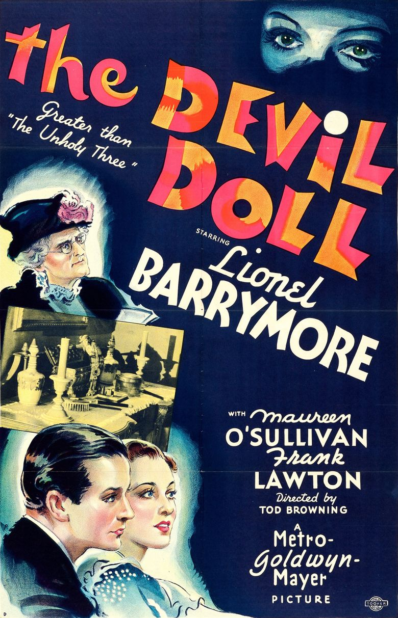 The Devil-Doll Poster