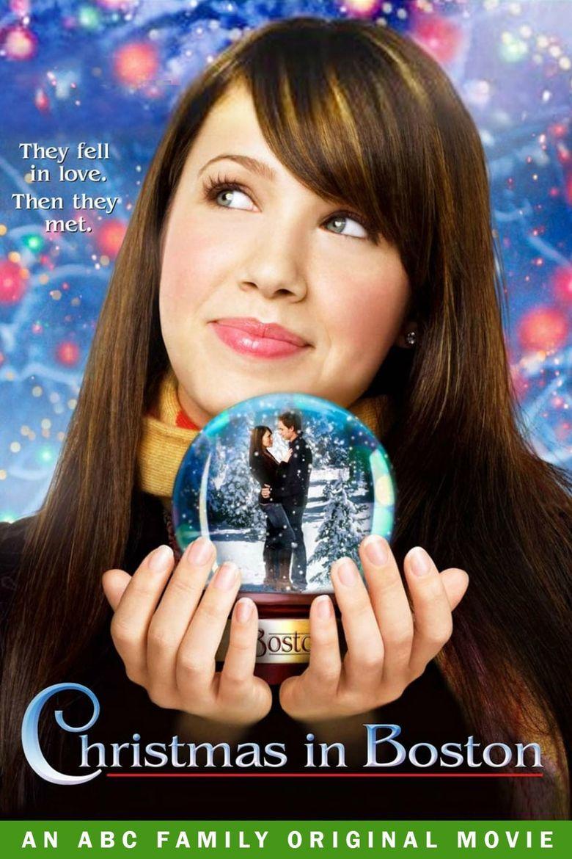 Christmas in Boston Poster