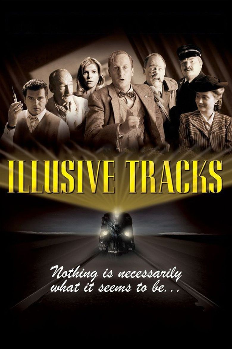 Illusive Tracks Poster
