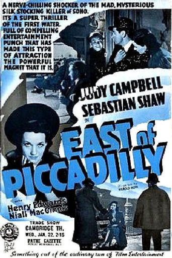 East of Piccadilly Poster