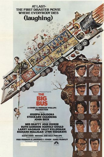 The Big Bus Poster