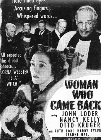 Woman Who Came Back Poster