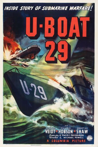 The Spy in Black Poster
