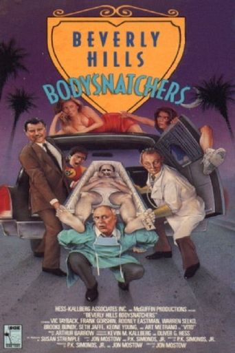 Beverly Hills Bodysnatchers Poster