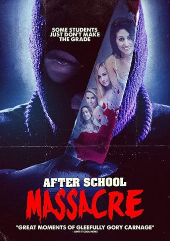 After School Massacre Poster