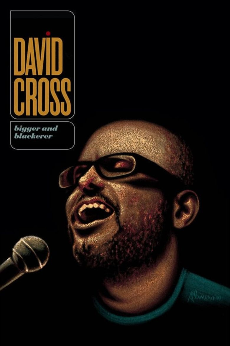 David Cross: Bigger and Blackerer Poster