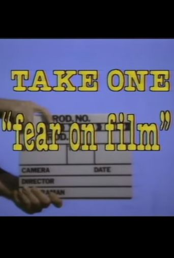 Take One: Fear on Film Poster