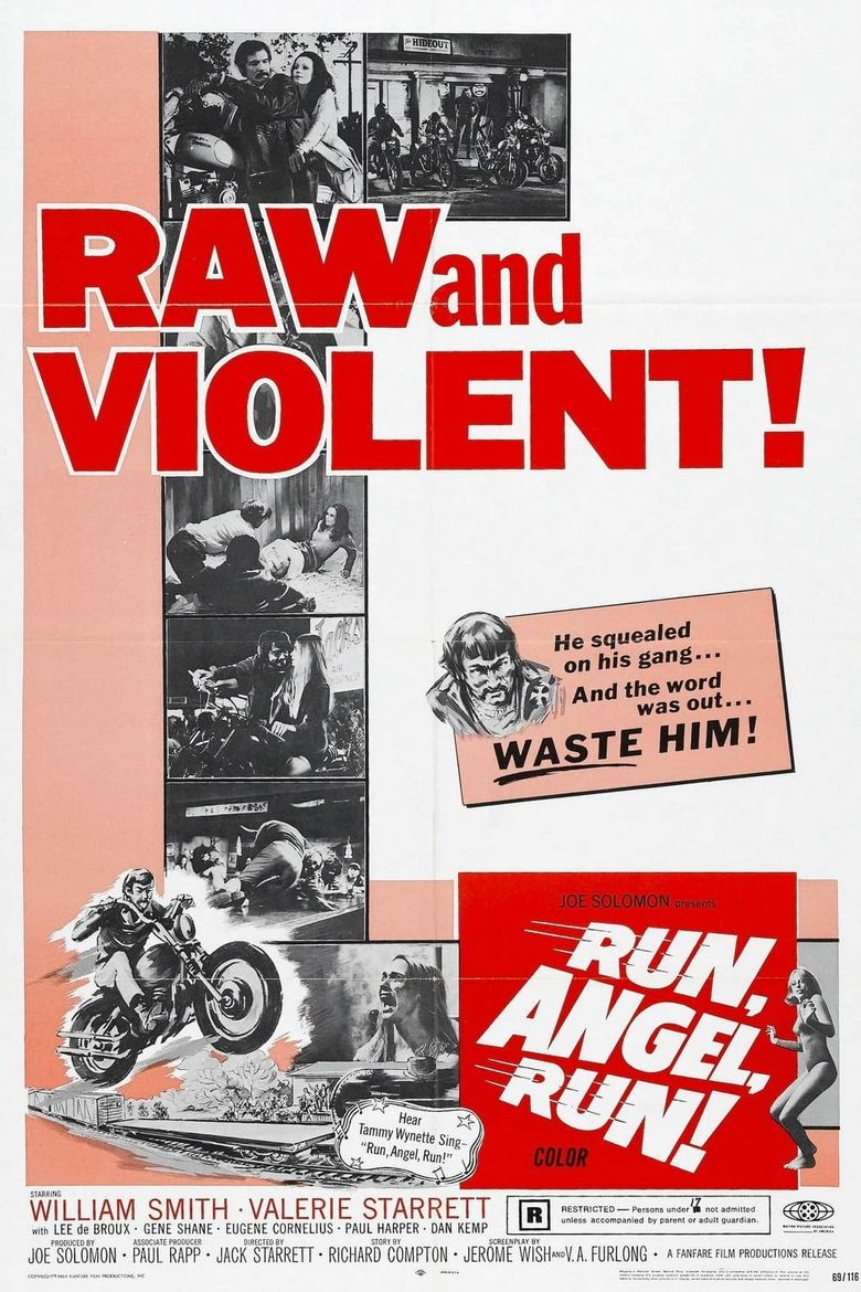 Run, Angel, Run! Poster