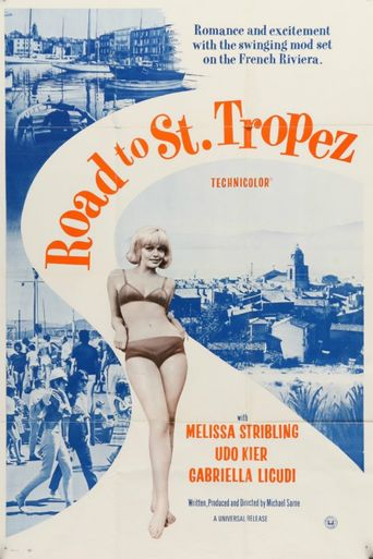 Road to St. Tropez Poster