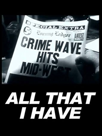 All That I Have Poster