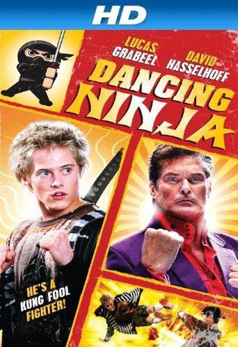 Dancing Ninja Poster