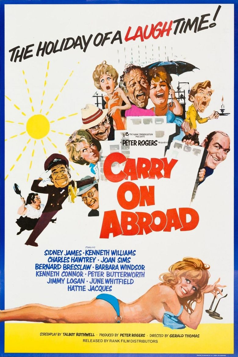 Carry On Abroad Poster