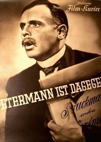 Petermann ist dagegen Poster