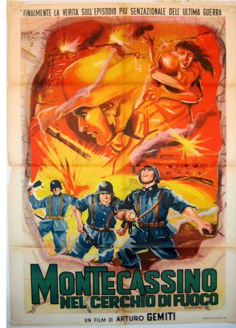 Montecassino nel cerchio di fuoco Poster