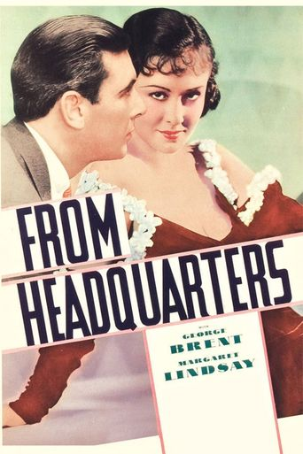 From Headquarters Poster