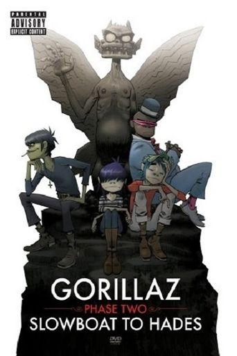 Gorillaz: Phase Two - Slowboat to Hades Poster