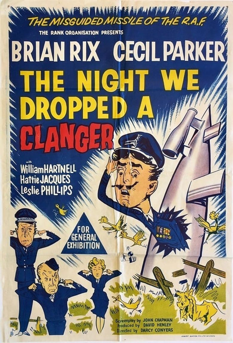 The Night We Dropped a Clanger Poster