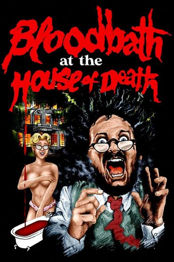 Bloodbath at the House of Death Poster