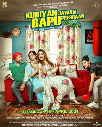 Kuriyan Jawan Bapu Preshaan Poster