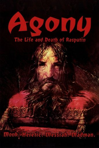 Agony: The Life and Death of Rasputin Poster