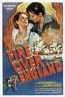 Fire Over England poster
