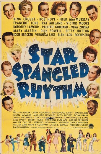 Star Spangled Rhythm Poster