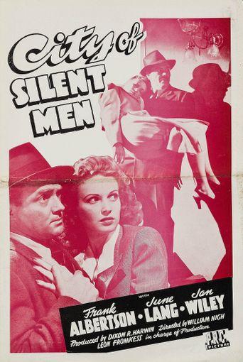 City of Silent Men Poster