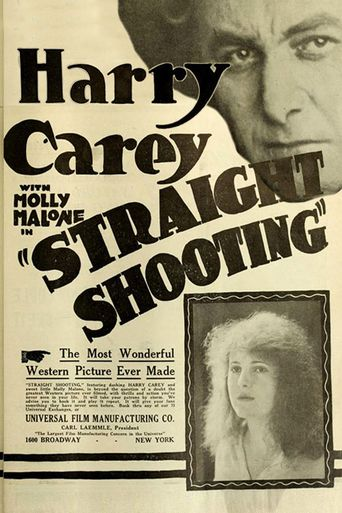 Straight Shooting Poster