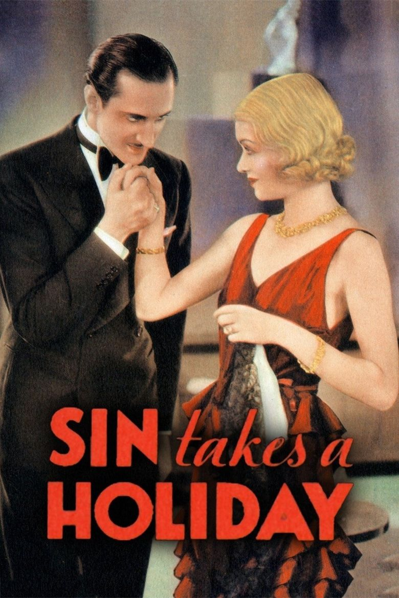 Sin Takes a Holiday Poster