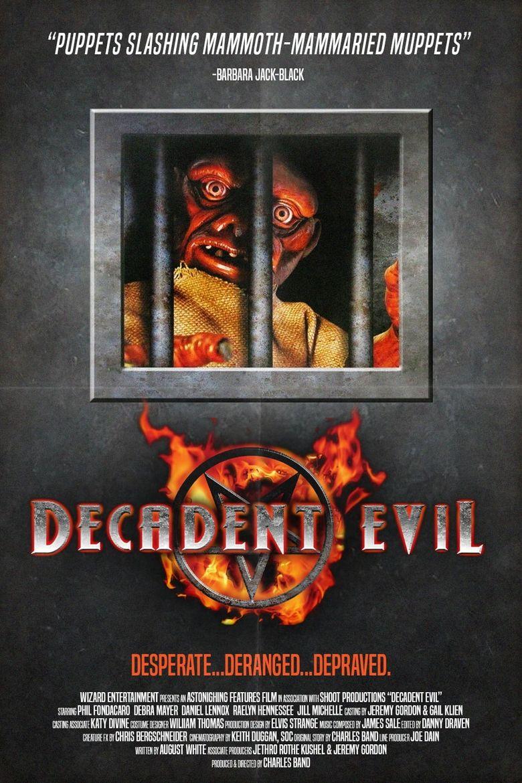 Decadent Evil Poster