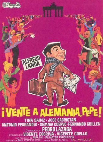 Vente a Alemania, Pepe Poster
