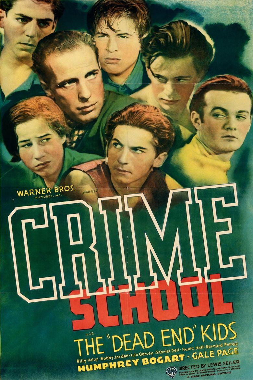 Crime School Poster