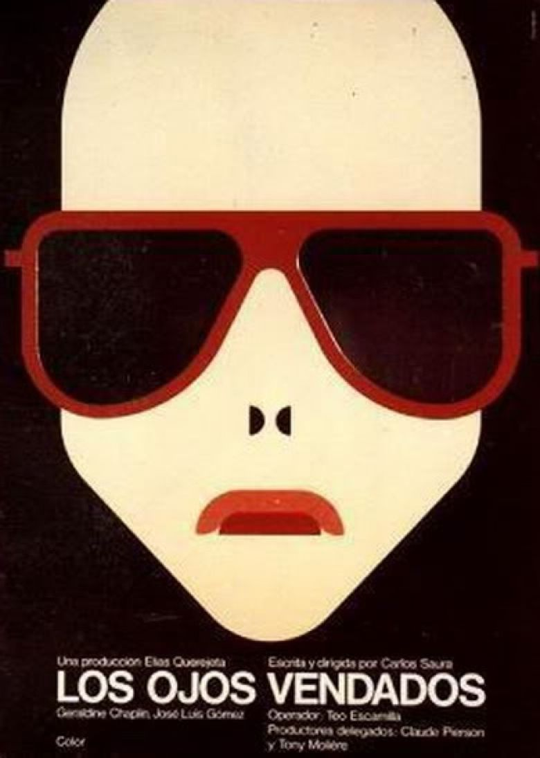 Blindfolded Eyes Poster