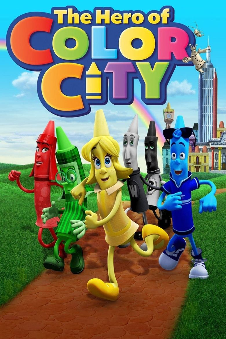The Hero of Color City Poster