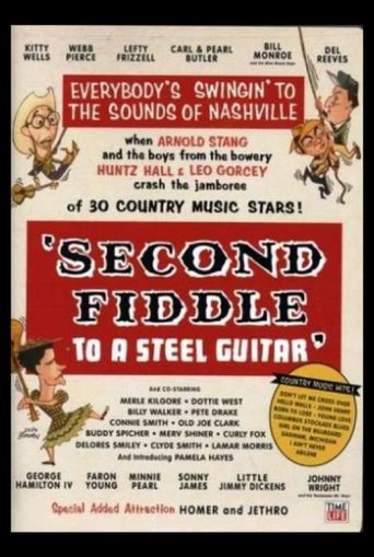 Second Fiddle to a Steel Guitar Poster