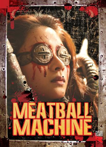 Meatball Machine Poster