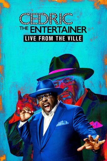 Cedric the Entertainer: Live from the Ville Poster
