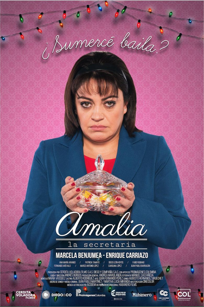 Amalia, la secretaria Poster