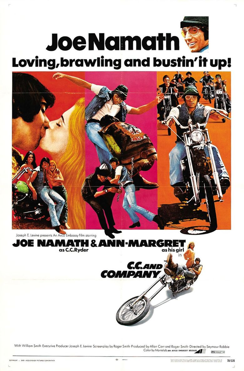 C.C. and Company Poster