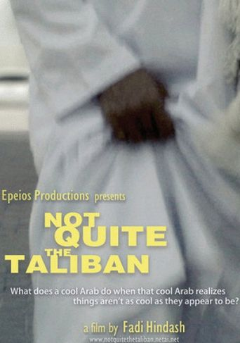 Not Quite the Taliban Poster