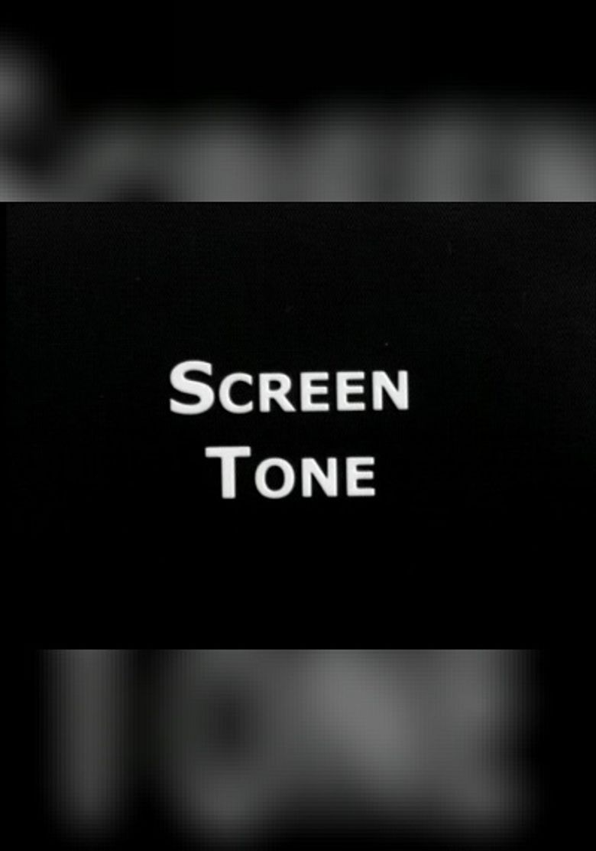 Screen Tone Poster