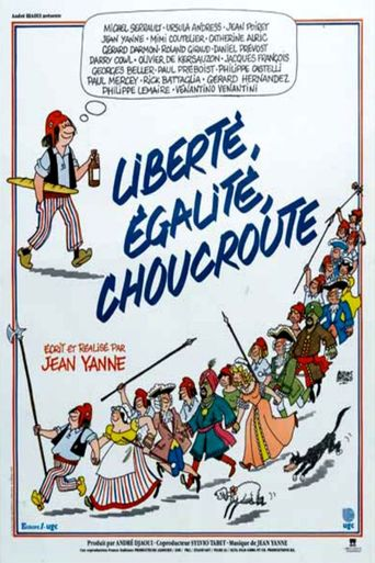 Liberté, Egalité, Choucroute Poster